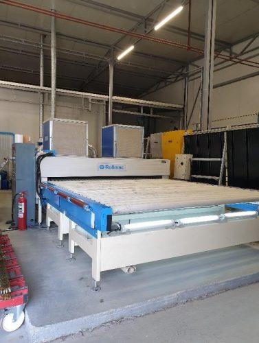rofessional roller machine ROLLMAC-GEMATA MULTIGLASS 1