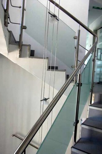 Balustrades with mullions